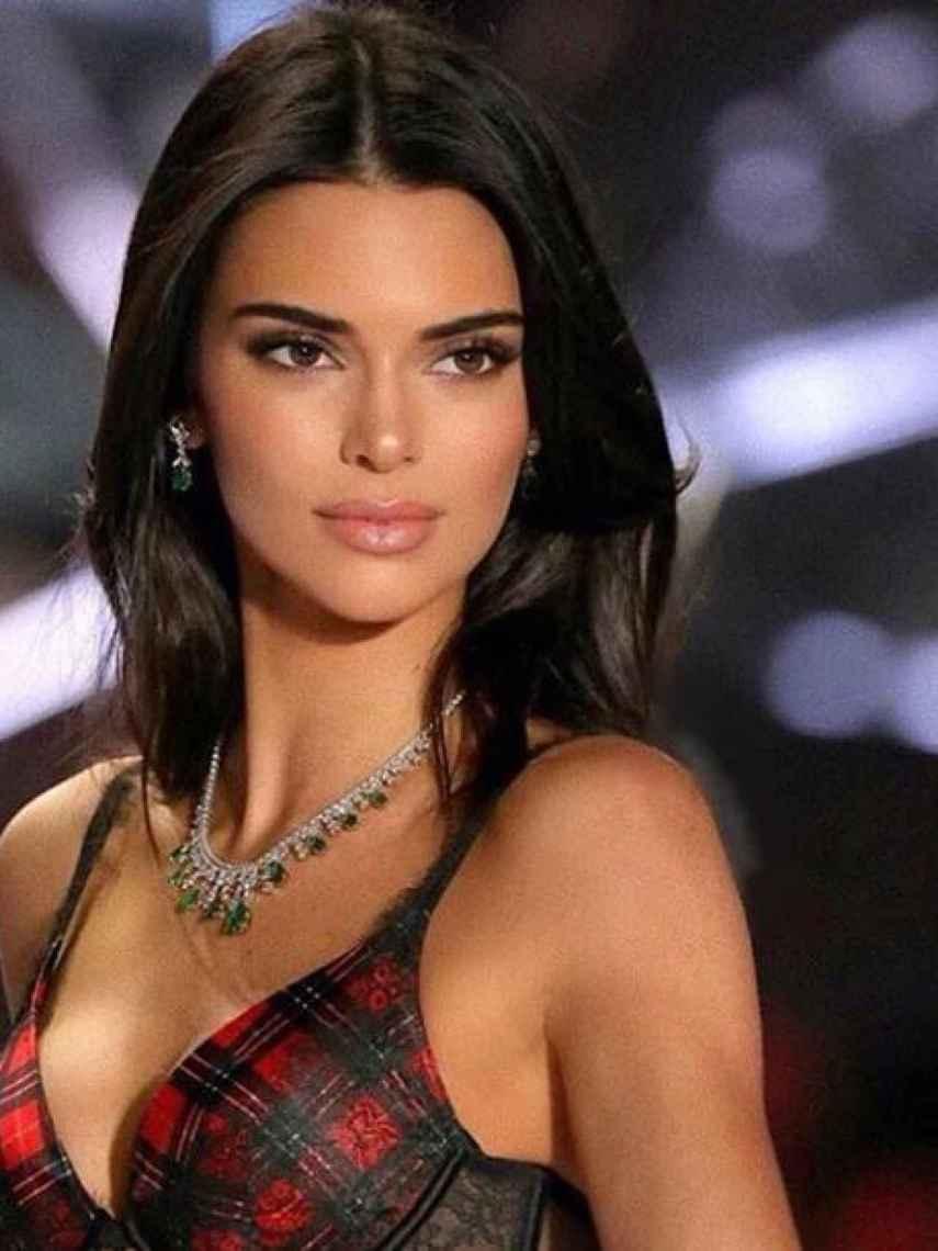Kendall siempre cuida su mirada.
