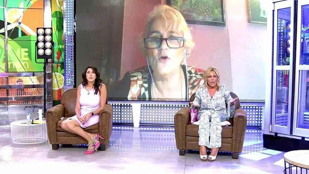 Joana Morillas reaparecía en 'Sálvame' para hablar de la fuente de Lydia Lozano.