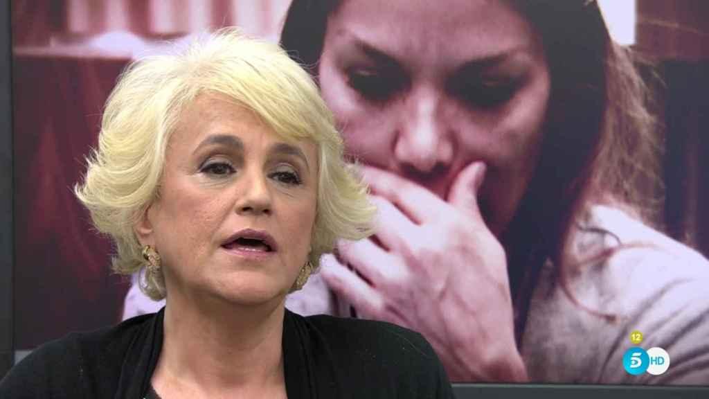La periodista colaboró en 'Sálvame' y 'Cazamariposas'.