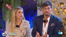 Oriana Marzoli e Iván González en 'La casa fuerte' (Telecinco)