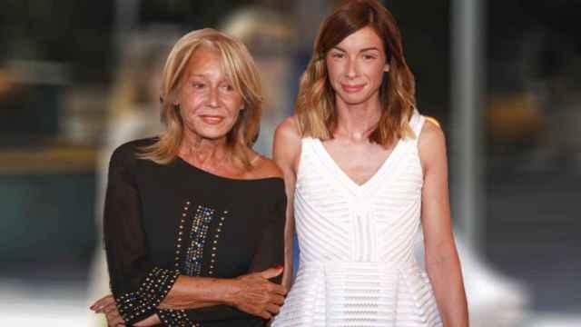 Mila Ximénez junto a su hija, Alba Santana.
