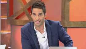 Santi Burgoa durante la emisión de un programa en Cuatro.