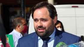 Paco Núñez, este miércoles en Toledo (Ó. HUERTAS)