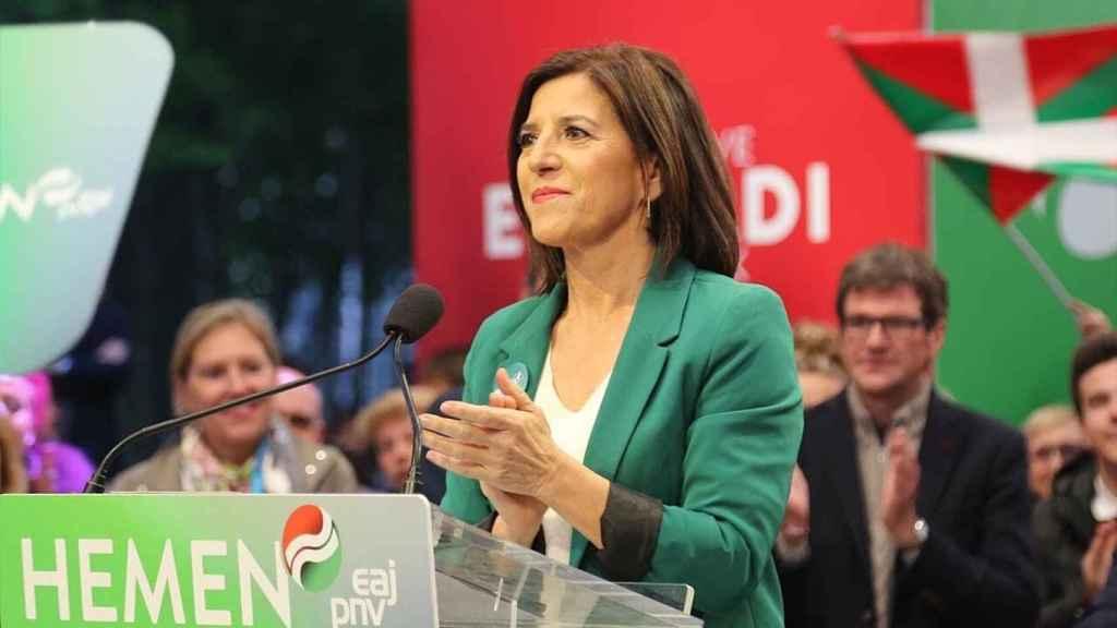 Izaskun Bilbao, del PNV, una de las firmantes de la carta.