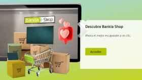 La tienda de productos de electrónica de Bankia, 'Bankia Shop'.