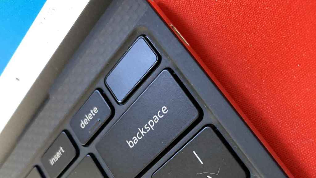 The power key on the Dell XPS 13 also has security features