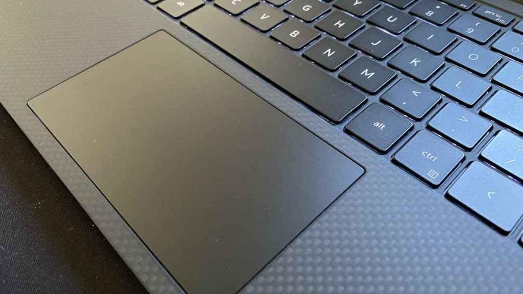 El trackpad del Dell XPS 13 podría ser más grande