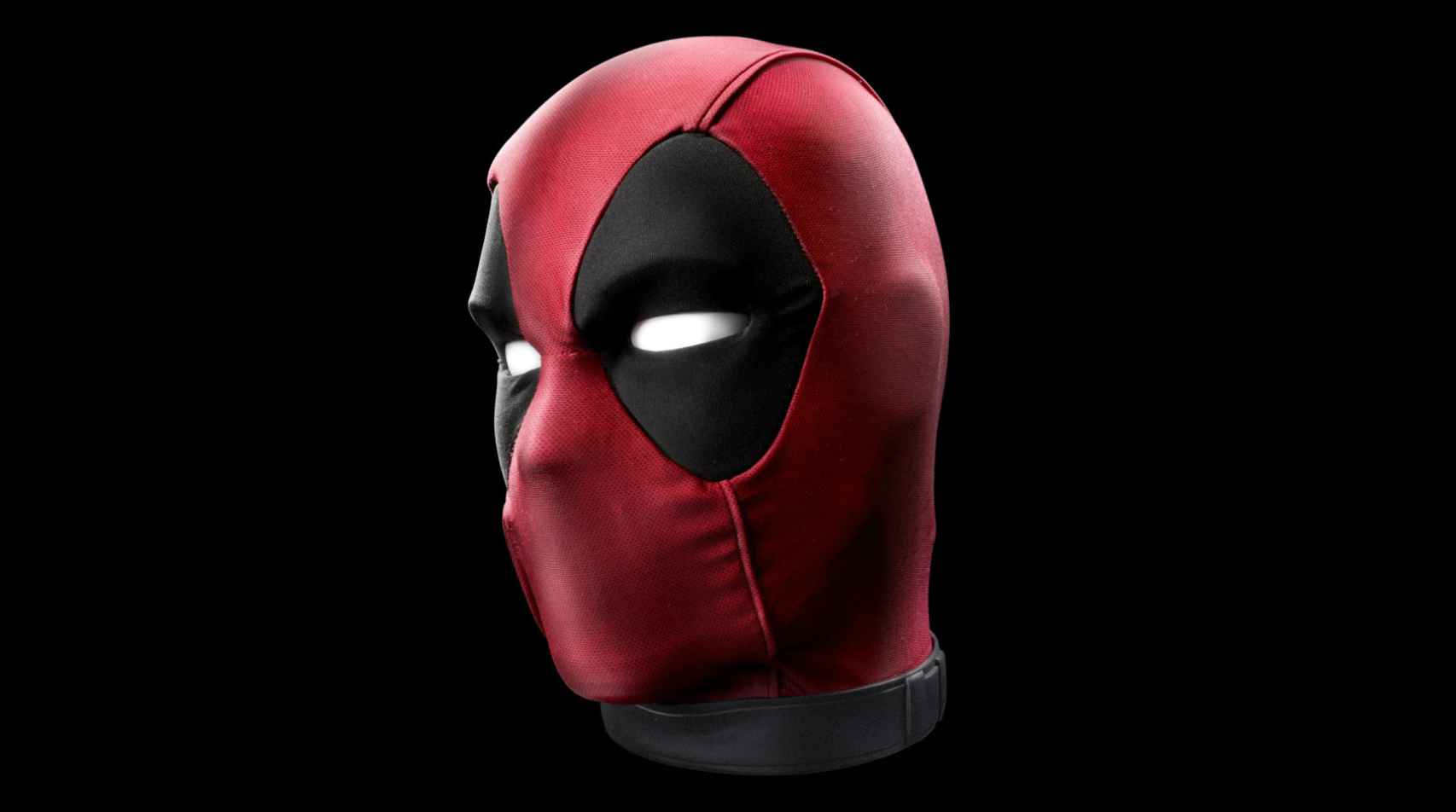 The Deadpool head is automated and has several sensors