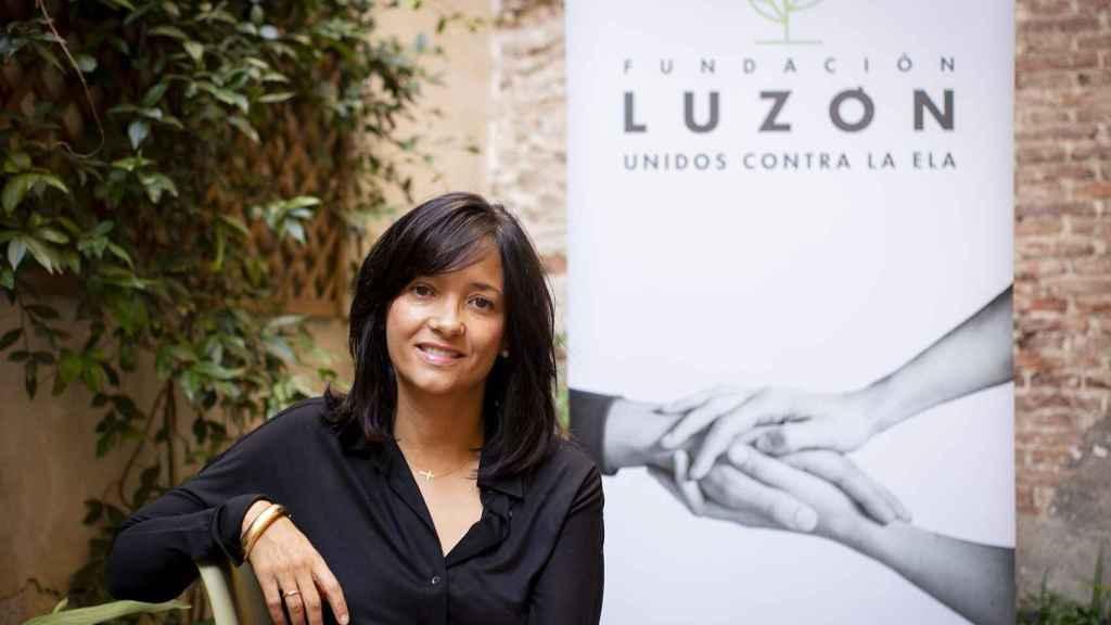 María José Arregui, vicepresidenta de la Fundación Luzón.