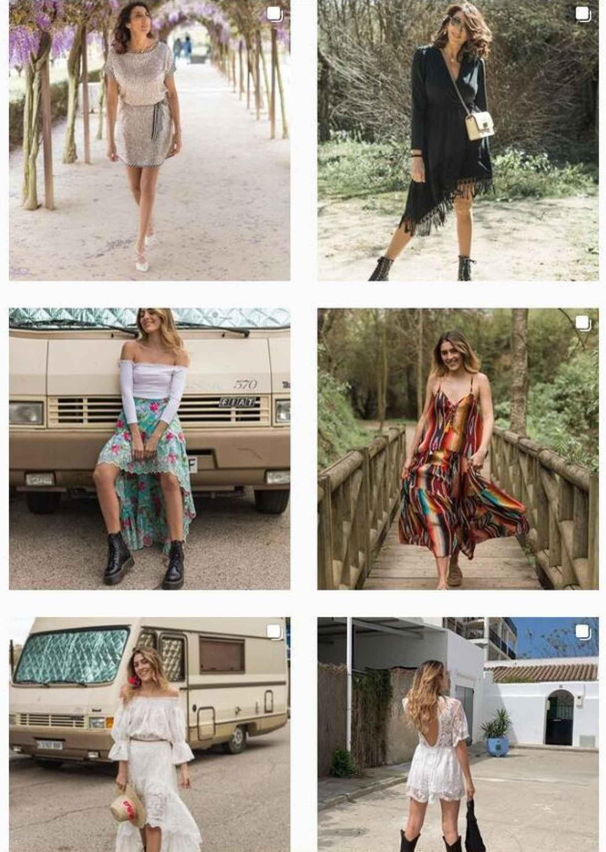 Paz y Anna han ejercido de 'modelos' de sus prendas a lo largo de este año.