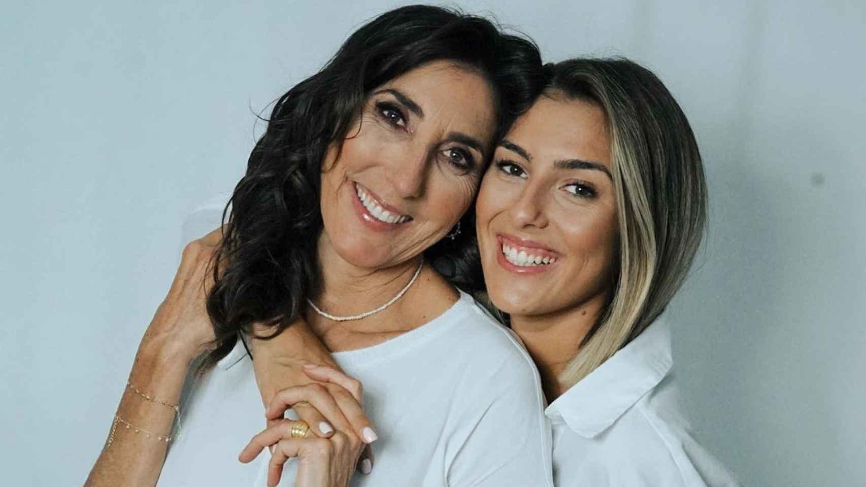 Paz Padilla y su hija, Anna Ferrer, en una imagen de sus redes sociales.