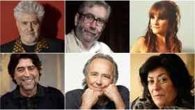 Pedro Almodóvar, Muñoz Molina, Rozalén, Sabina, Serrat y Almudena Grandes.