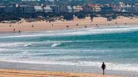 Una playa de Andalucía