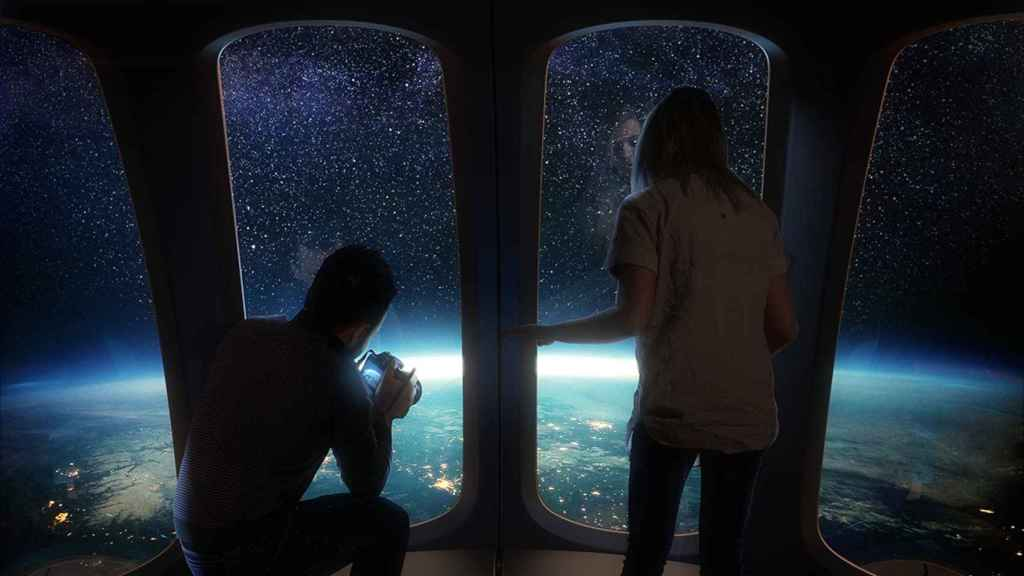 Space tourists will be able to enjoy sunrises from the stratosphere