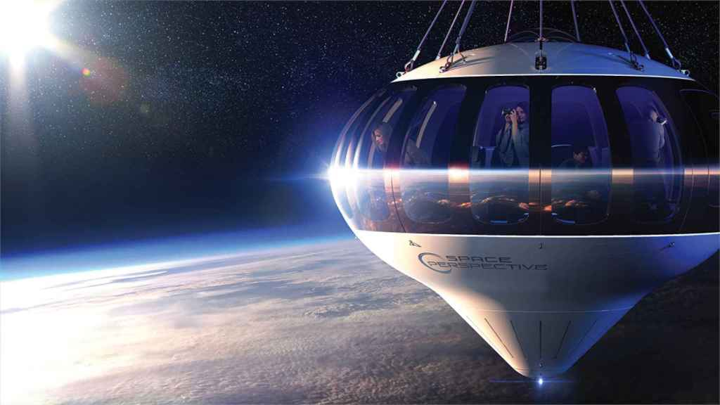 The Space Perspective spacecraft will have breathtaking views