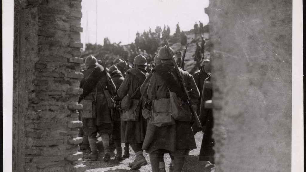 Avance de las tropas sublevadas en Málaga.