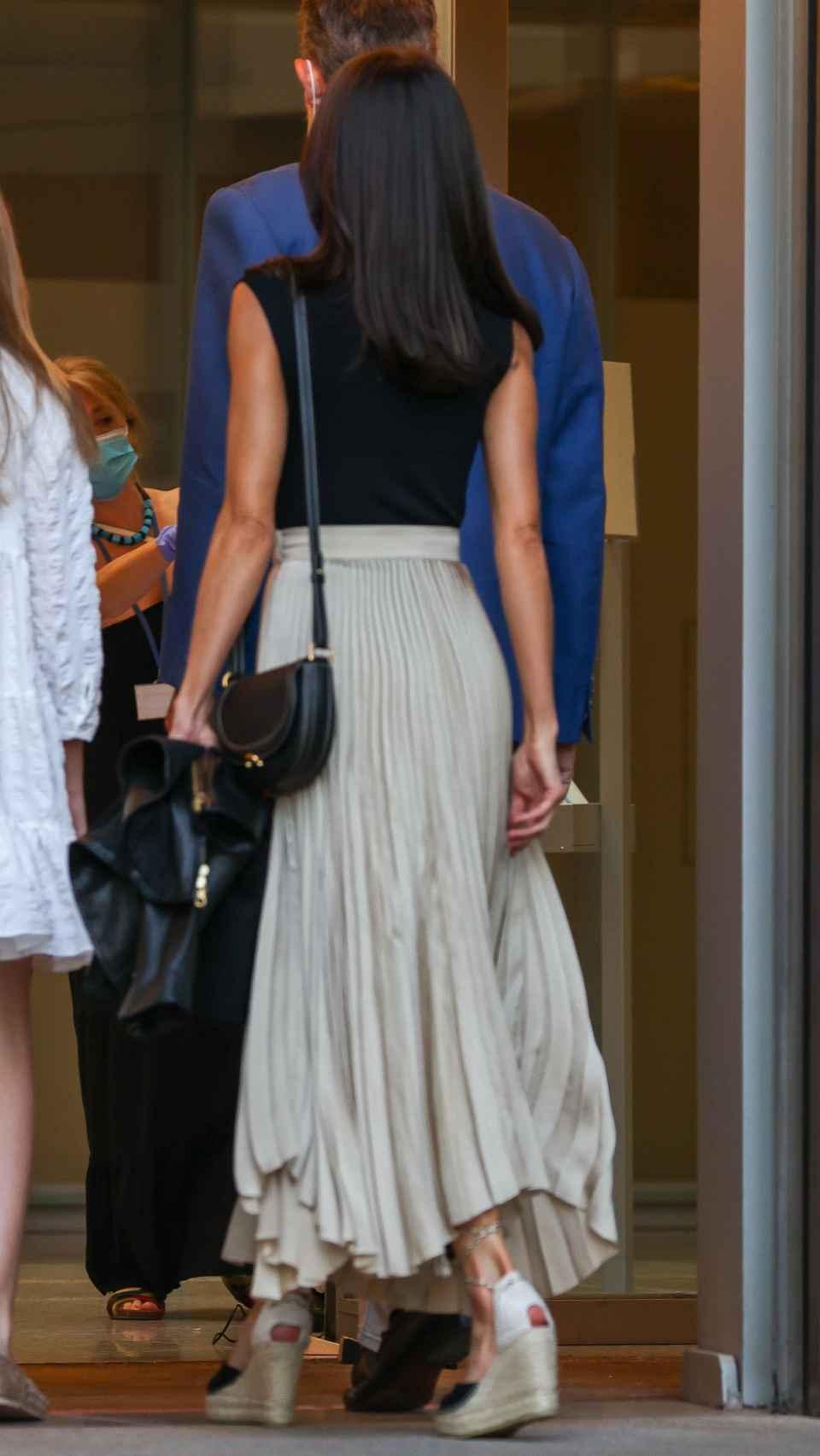 El nuevo bolso de Carolina Herrera de la Reina.