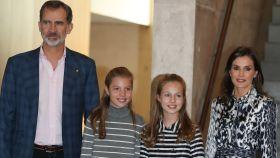 La Familia Real en Barcelona el pasado mes de noviembre.
