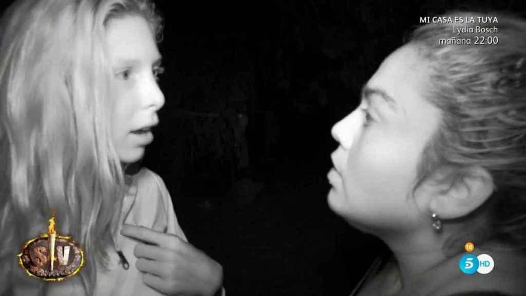 Saray fue expulsada por agredir a Romina