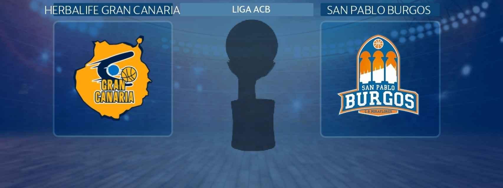 Herbalife Gran Canaria - San Pablo Burgos, partido de Liga ACB