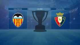 Valencia - Osasuna, partido de La Liga