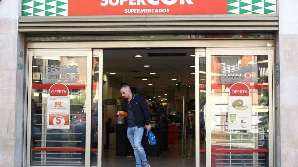 Imagen de una tienda Supercor.