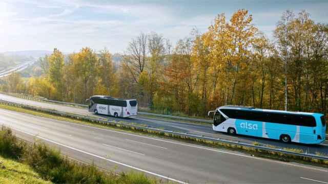 Autobuses de Alsa.