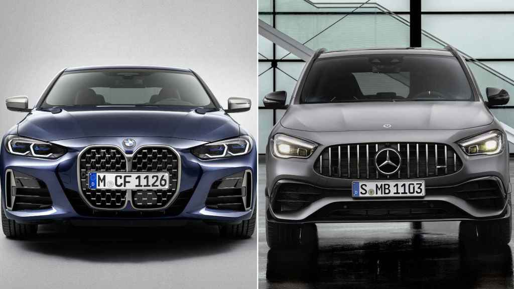 Imagen de los últimos lanzamientos de BMW y Mercedes.