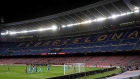 El Camp Nou vació