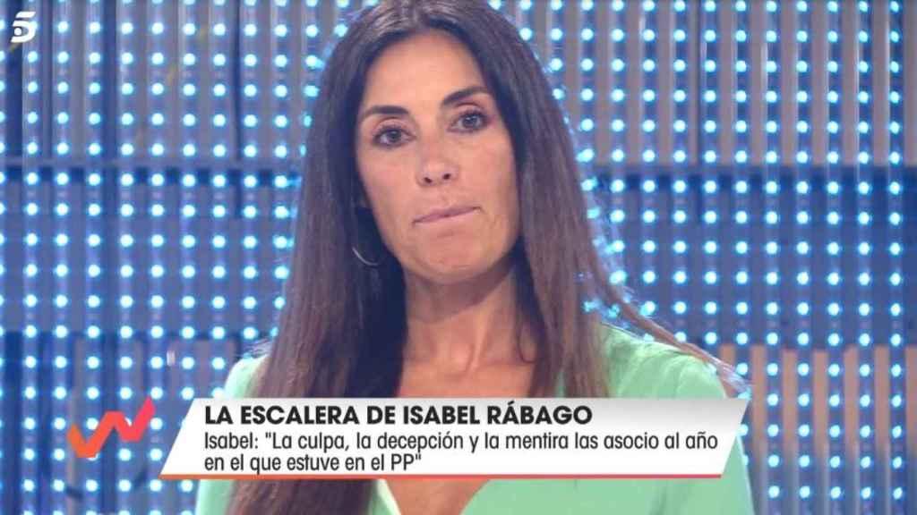 La colaboradora Isabel Rábago.