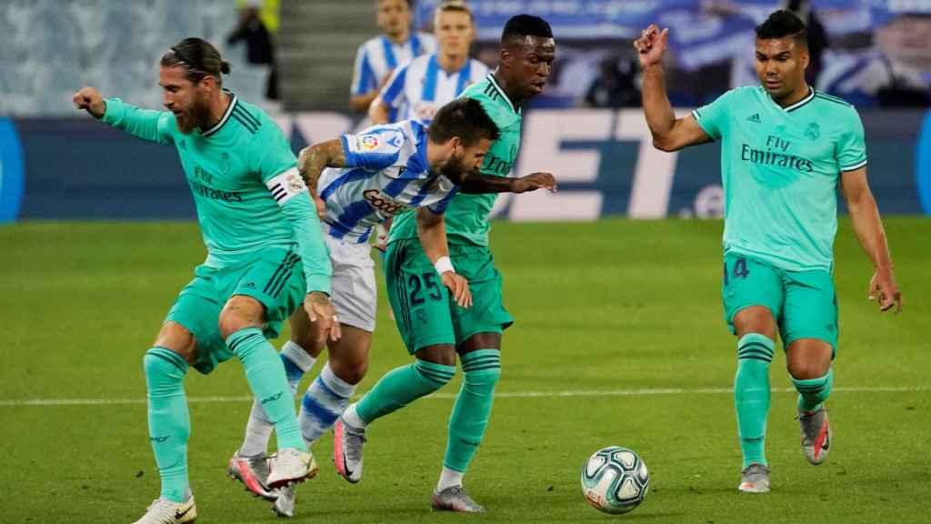 Portu supera la presión de Sergio Ramos
