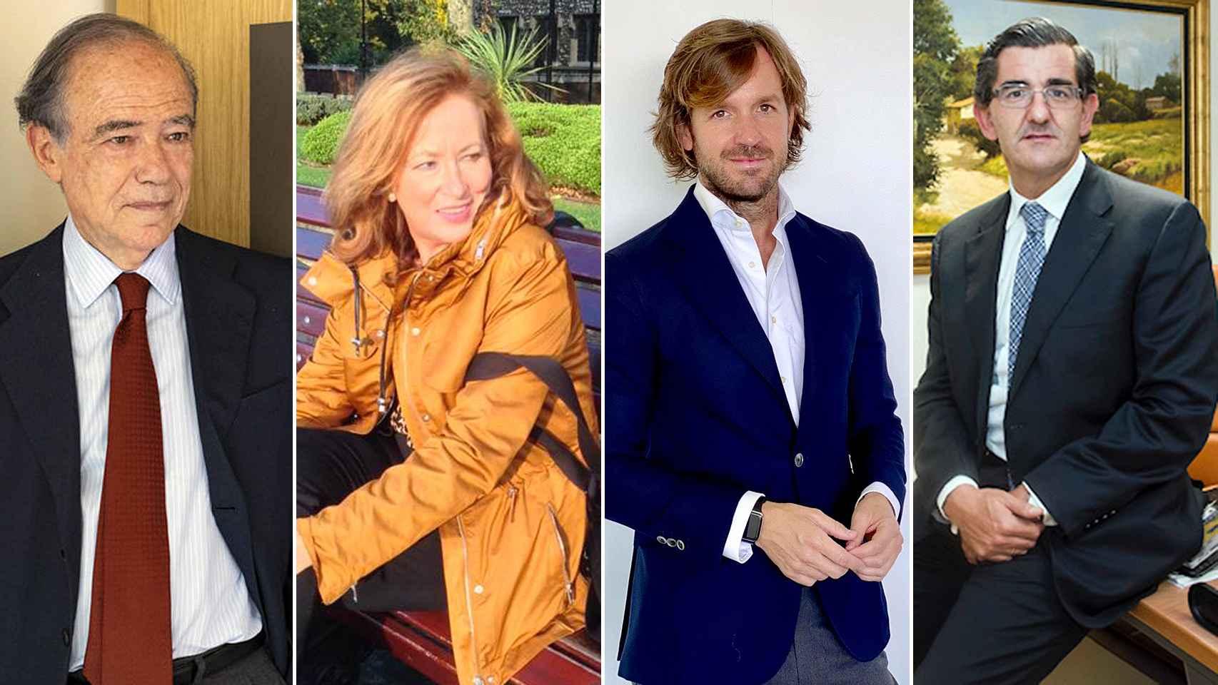 Gregorio Marañón y Beltrán de Lis, Clementina Díez de Baldeón García, Rosauro Varó Rodríguez y Juan Abarca Cidón, nuevos consejeros de EL ESPAÑOL.