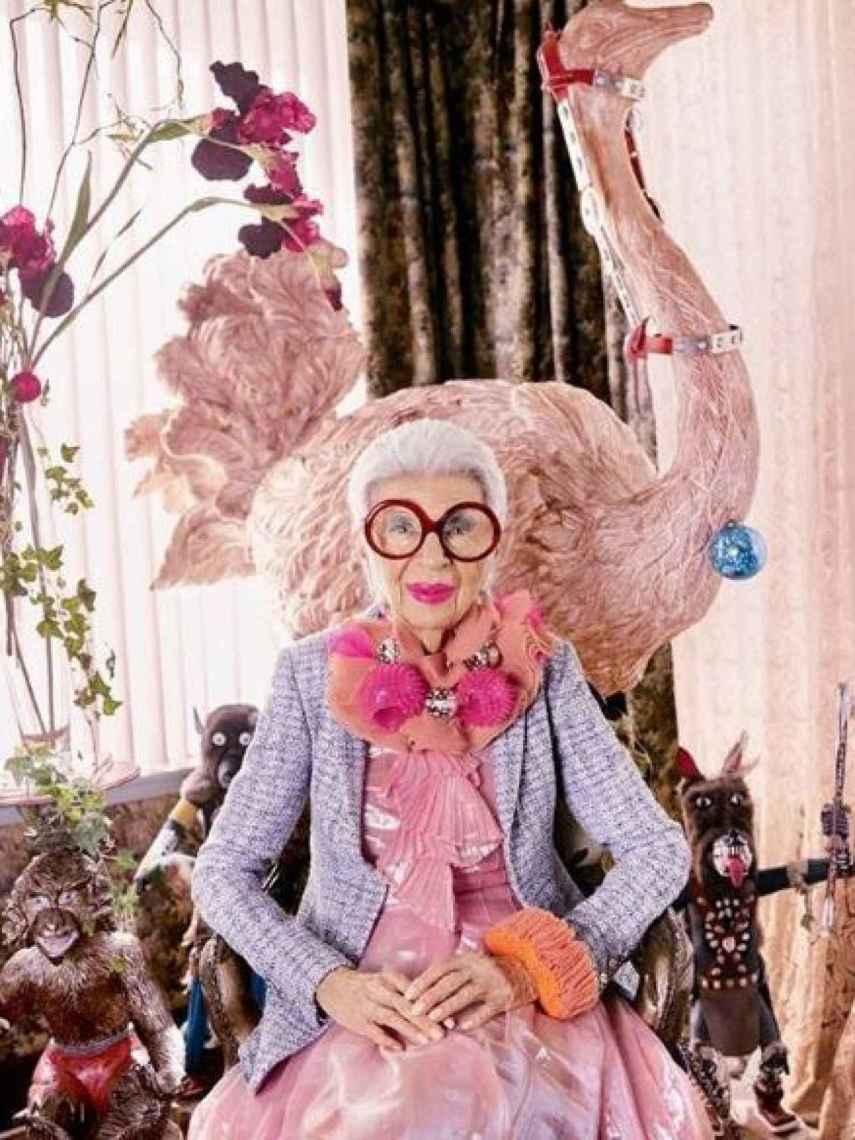 Iris deslumbra con su visión de ver la moda.