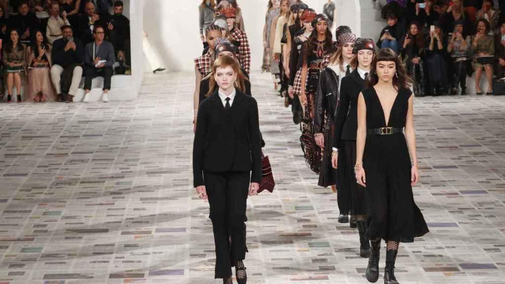 Último desfile de Dior en París.