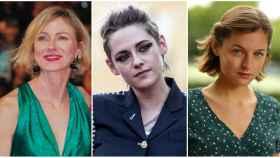 Naomi Watts,  Kristen Stewart y Emma Corrin.