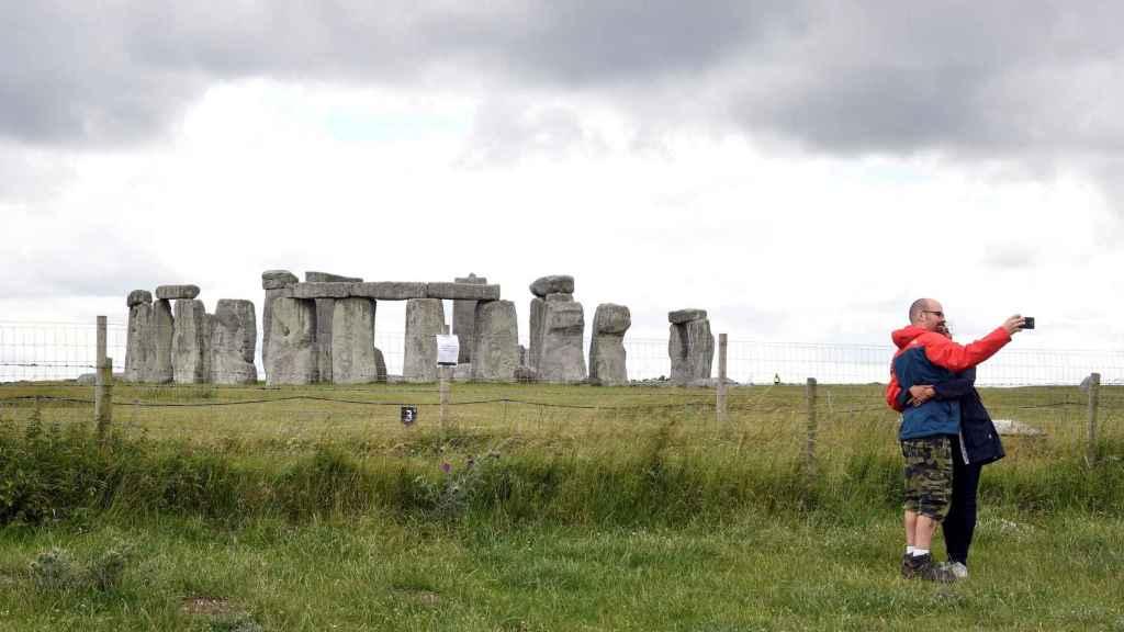 Imagen de archivo de Stonehenge.