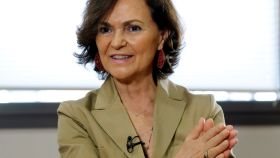 La otra cara de Carmen Calvo: su éxito con Cs refuerza su papel como negociadora de Sánchez.