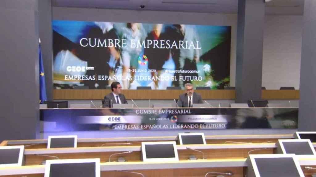 Sexta jornada de la cumbre empresarial de la CEOE.