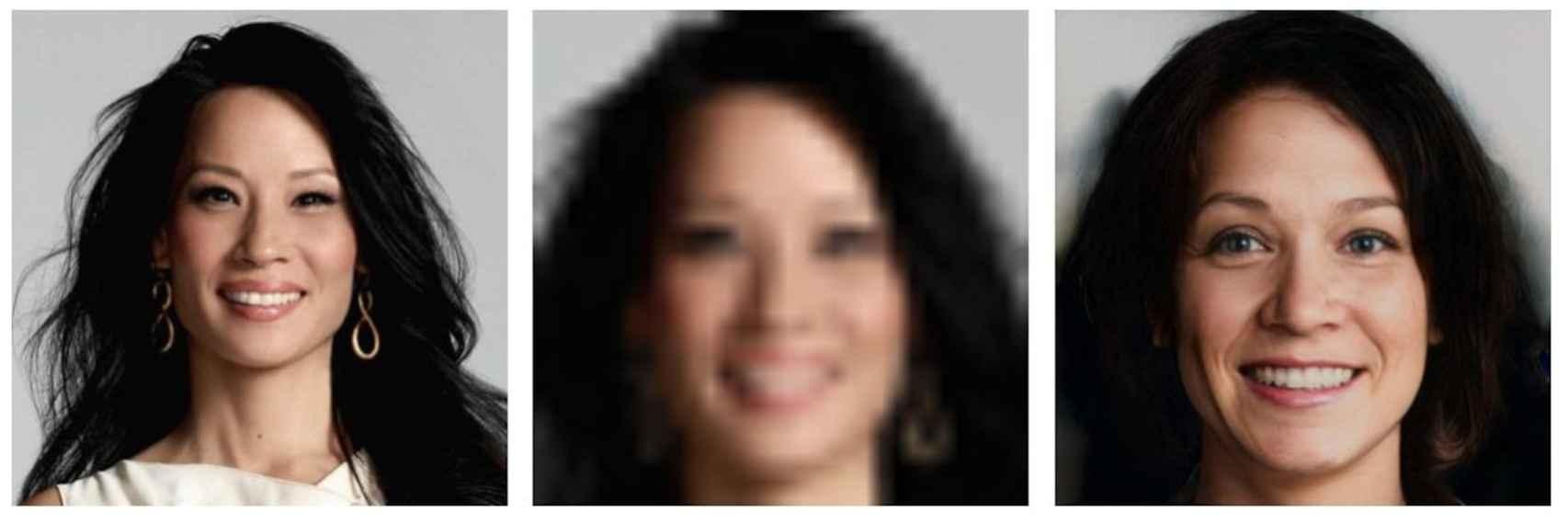 Lucy Liu deja de tener rasgos asiáticos al pasar por esta IA