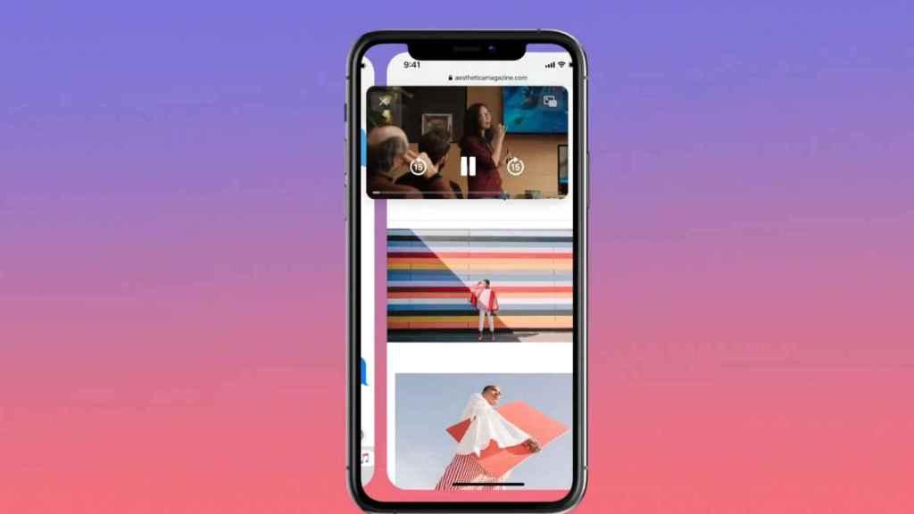 Widgets y vídeo flotante en iOS 14