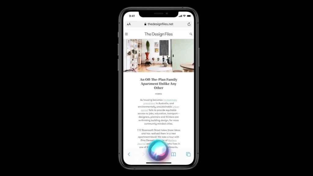 Nuevo Siri en iOS 14