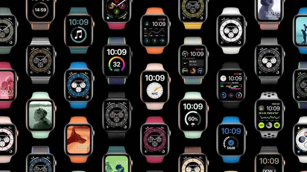 Apple Watch con el nuevo watchOS
