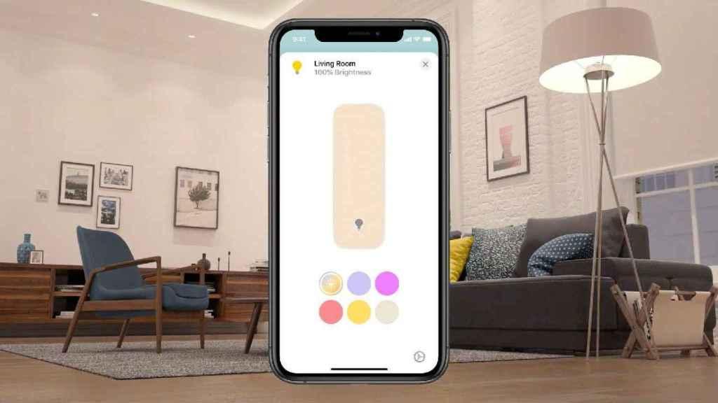 Nuevo control de luces inteligentes en Apple Home