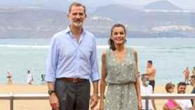 Los Reyes han comenzado su gira por España en Las Palmas de Gran Canaria.
