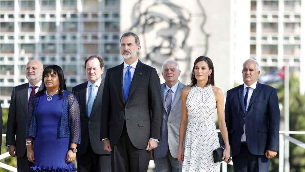 Los Reyes en su visita de Estado a Cuba en 2019.