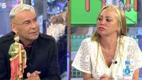 Jorge Javier Vázquez y Belén Esteban en 'Sálvame' (Telecinco)