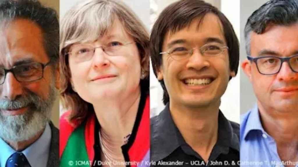 Cuatro matemáticos, Meyer, Daubechies, Tao y Candé, Premio Princesa de Asturias de Investigación