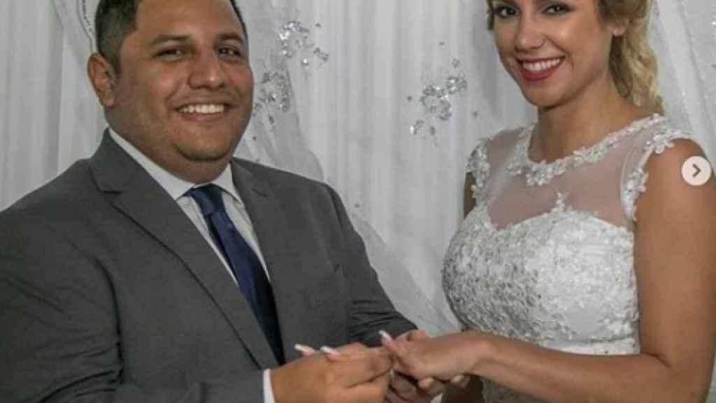 Viviana Figueredo y Giancarlo Álvarez se casaban en 2018.
