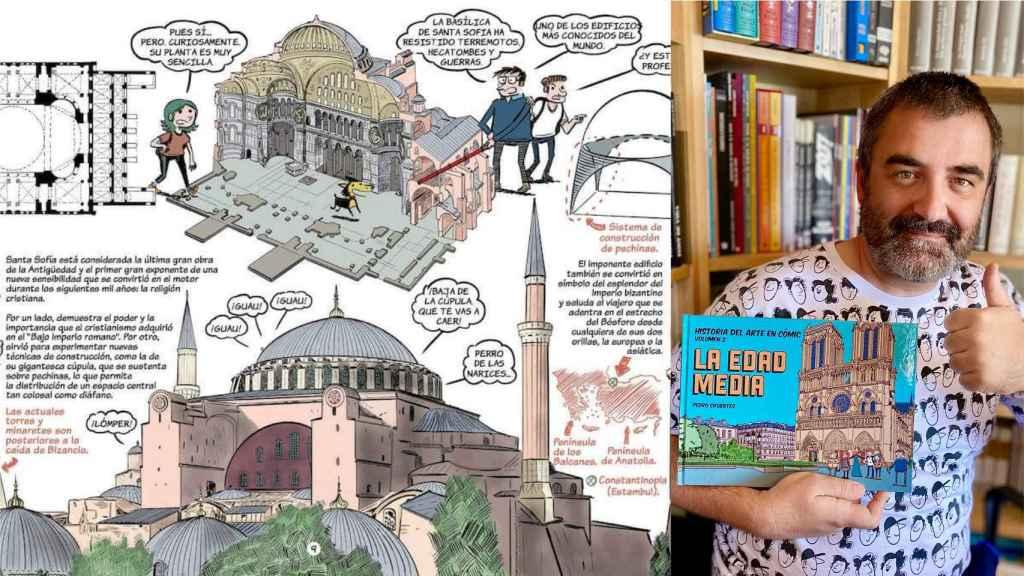Pedro Cifuentes presenta 'Historia del Arte en cómic. Volumen 2'.