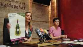 Presentación de la VIII edición de 'Notas del Vino' en Valdepeñas. Foto: Ayuntamiento de Valdepeñas (Ciudad Real)